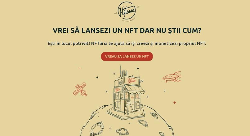 Zitec lanseaza NFTaria.ro, o fabrica de NFT-uri la preturi fixe