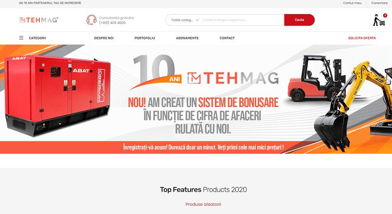 Grupul de magazine online Tehmag a investit 800.000 € in dezvoltare