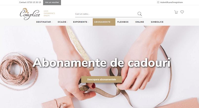 Complice.ro a lansat abonamentele pentru cadouri experientiale