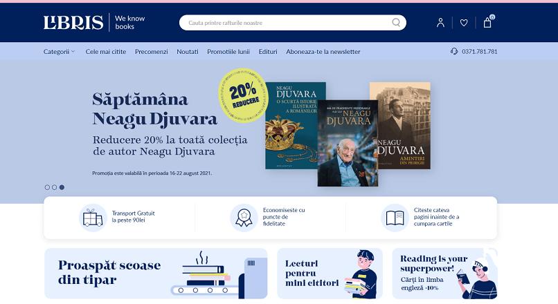 Libris.ro are o identitate vizuala noua si investeste 4 milioane € in experienta cititorilor