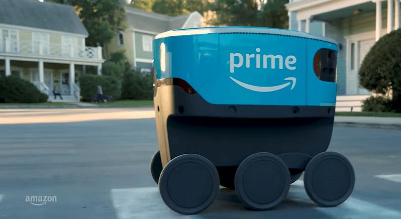 Amazon inlocuieste dronele cu roboti de livrare autonomi (VIDEO)