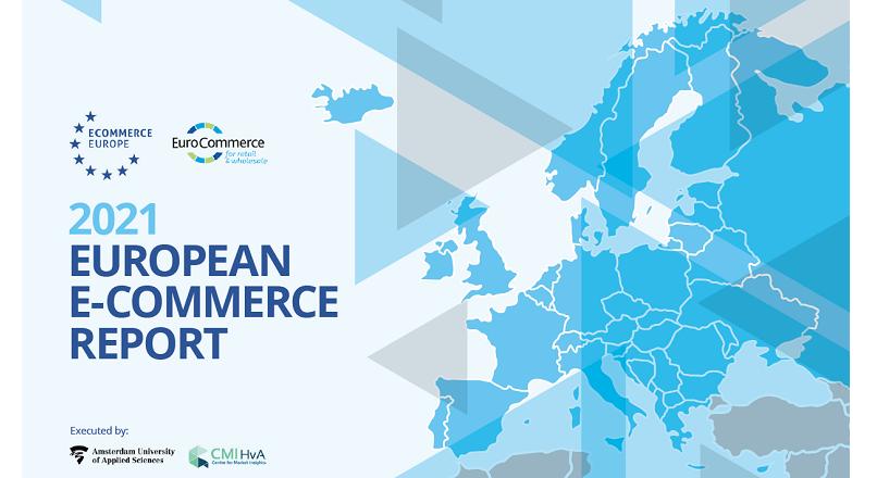 In 2020, comertul online european a valorat 757 miliarde € (+10% YoY) (raport)
