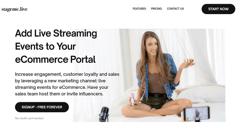 Start-up-ul de live streaming e-commerce StageMe.Live tinteste atragerea a 160.000 €