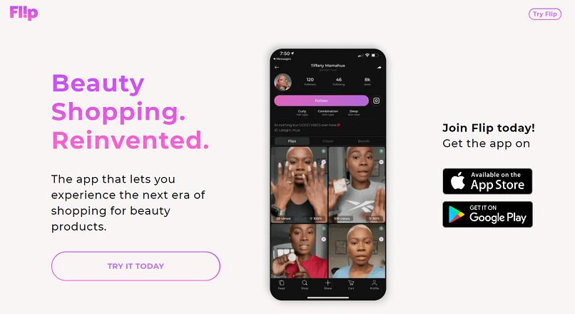 SUA: aplicatia de comert social Flip e noul TikTok, pe nisa de Beauty