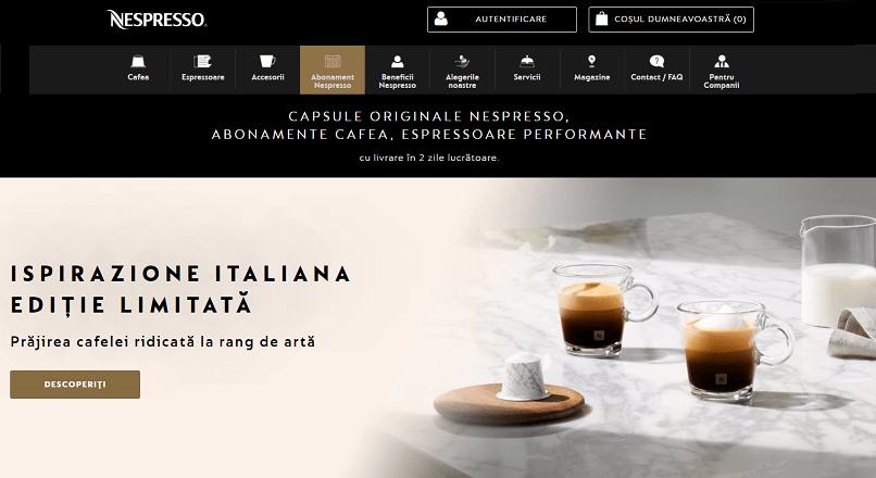 Peste 50% dintre vanzarile de cafea Nespresso se fac online