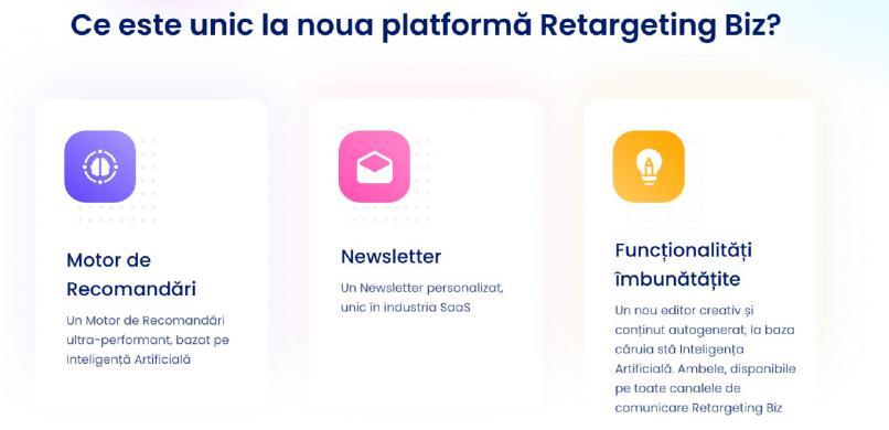 Noua platforma Retargeting Biz revolutioneaza piata e-commerce