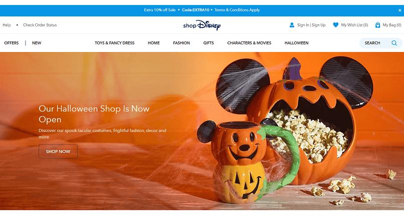 Compania Disney a mai inchis 57 de magazine fizice si se orienteaza spre e-commerce