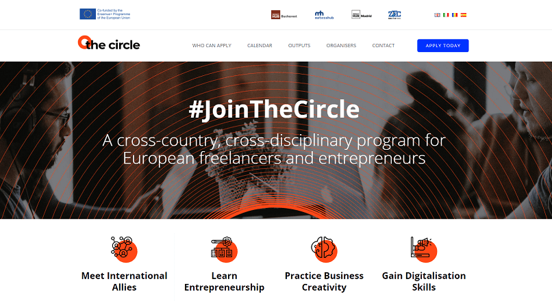 Zitec dezvolta abilitatile digitale ale antreprenorilor, in programul The Circle