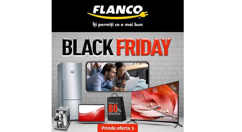 Black Friday 2021, la Flanco: 22 octombrie – 30 noiembrie