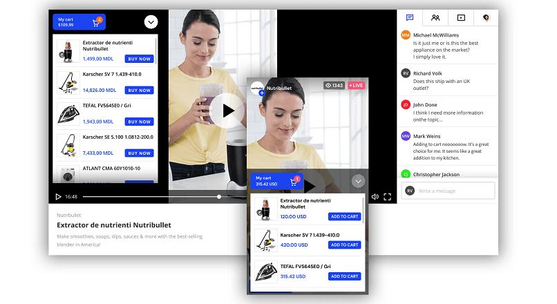 Oveit anunta integrarea cu Shopify, pentru Streams.Live (prima solutie de live stream shopping din Romania)