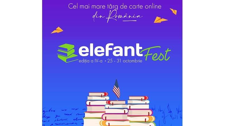 Editia a patra din elefantFest are loc online, in perioada 25-31 octombrie 2021